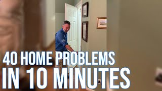 40 Home Problems in 10 Minutes