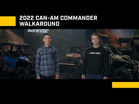 2022 Can-Am Commander DPS 1000R in Augusta, Maine - Video 1