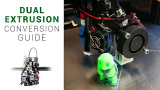 Add dual extrusion to your current 3D printer - dual switching extruder guide