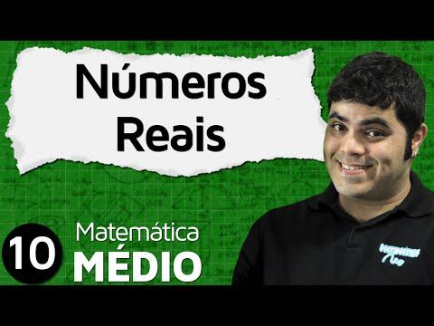 Conjuntos dos Números Reais (União dos Racionais e Irracionais) | MEM #10