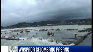 Waspada Gelombang Pasang Terjang Kepulauan Nias  BIS 13/06