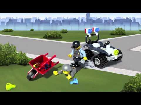 Vidéo LEGO City 60006 : Le 4x4 de la police spéciale