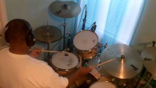 Clyde McPhatter & The Drifters - White Christmas (Drum Cover)