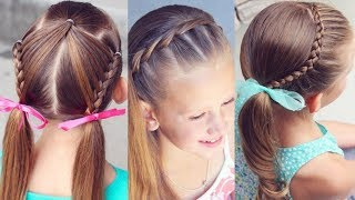 Kız Çocuklarına Pratik Şık Saç Modelleri