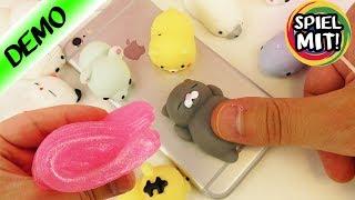 SÜßE SQUISHY TOYS für Kaans Handy + Glitt-A-Goo Putty von Jojo Siwa! Perfekte Anti-Stress Mittel