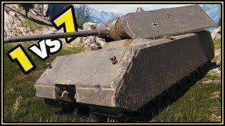 Maus - 11 KILLS - 1 vs 7 - 12K Damage Blocked - World of Tanks Gameplay