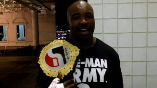 ShoFIGHT HEAVYWEIGHT CHAMPION - Dexter Jenkins - POST FIGHT INTERVIEW