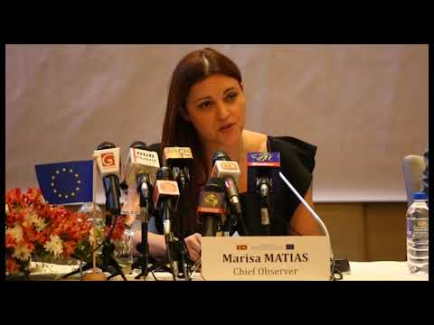 EU EOM Sri Lanka preliminary statement clip 4