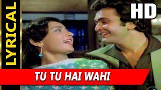 Tu Tu Hai Wahi With Lyrics | Kishore Kumar, Asha   - YouTube