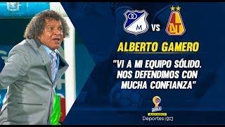 Millonarios 1-2 Tolima: Alberto Gamero, Rueda De Prensa I Deportes RCN