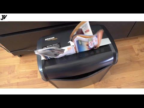 AmazonBasics 6-Sheet Cross-Cut  Shredder – Review