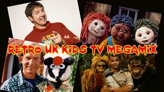 Retro UK Kids TV Megamix (90s And Some Early 00s)