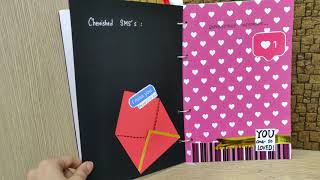 Jorney book | slambook | our beautiful  jounery | gift for boyfriend | our love story