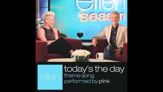P!nk   Today's The Day Audio