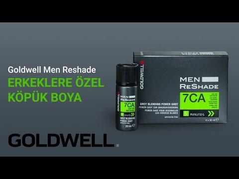 Goldwell Men Reshade Erkeklere Özel Köpük Boya 4x20ml
