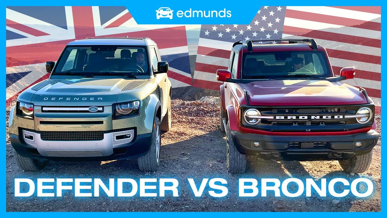 agGWv6Cw6qI - Ford Bronco vs. Land Rover Defender | 2-Door Off-Road SUV Showdown | Overlanding Comparison