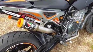 2019 |Ultimate exhaust sound ktm duke 790 |Austin racing, arrow, leo vince, akrapovic |RIDEMOTO