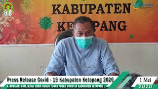 Press Release Covid -19 Kabupaten Ketapang (1 Mei 2020)