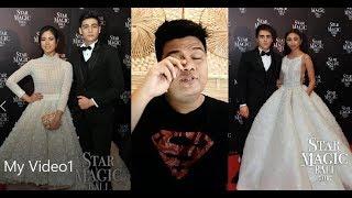 STAR MAGIC BALL REACTION VIDEO (ang GANDA ni MAYMAY, LAFTRIP si KISSES,nakaPANTYGOWN si PIA etc etc)