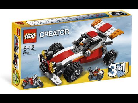 Vidéo LEGO Creator 5763 : Le buggy