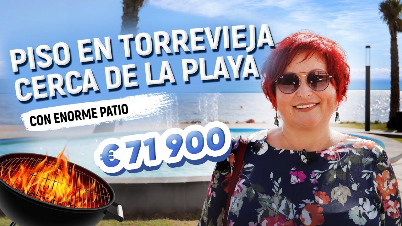 Piso en Torrevieja cerca de la playa.  Viviendas en España