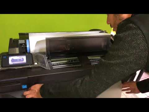 Impresión de Planos en papel Calca Vegetal desde plotter T120 y T520