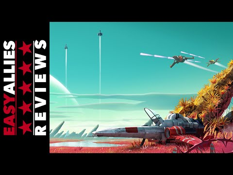No Man's Sky - Easy Allies Review - YouTube video thumbnail