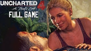 Uncharted 4: A Thief's End - FULL GAME - No Commentary