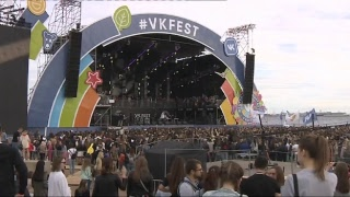 "Макс Барских на""VKFest -2017"" — прямая трансляция изПетербурга"