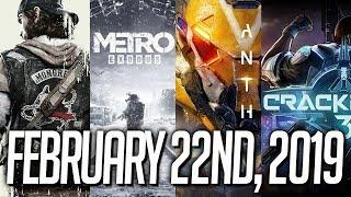 Anthem vs Days Gone vs Crackdown 3 vs Metro Exodus | The Battle for February 22nd, 2019