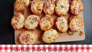 Hartige Ham En Kaashapjes | Recept | Koken Met Marielle