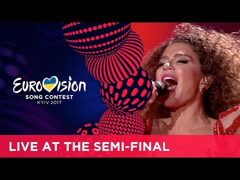 Tamara Gachechiladze - Keep The Faith (Georgia) LIVE at the first Semi-Final