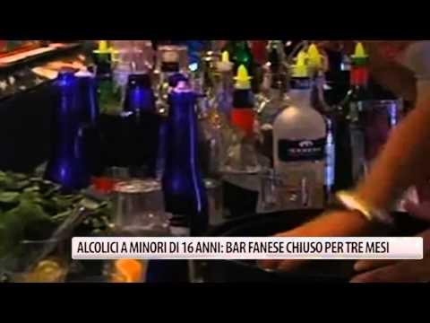 Dove in Brest da esser cifrata da alcolismo