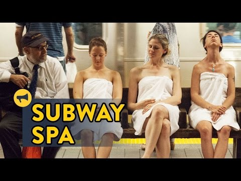 Hot Subway Station In New York City Transformed Into Spa
