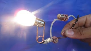 Free Energy Resonator experiment 2018 - Homemade Science projects for kids