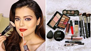 Affordable Make Up Kit for Beginners In India | Products, Tools & Brushes For Basic Makeup - Download this Video in MP3, M4A, WEBM, MP4, 3GP