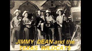 Jimmy Dean And The Texas Wildcats - Glad Rags / Freight Train Blues (1956)