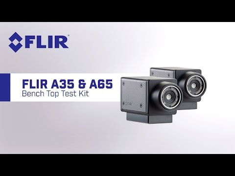 FLIR A65/35 Bench Top Test Thermal Kit Camera