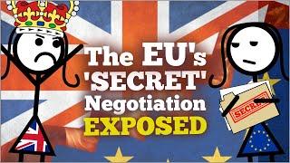 The EU's 'SECRET' Brexit Negotiation EXPOSED 🙄