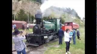 preview picture of video 'Oamaru Steam Train Ride 16 Nov 2013'