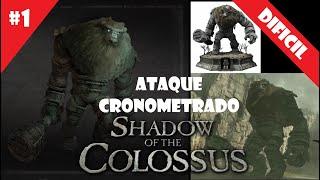 Coloso #1 (DIFICIL) - Ataque Cronometrado - Shadow of the Colossus (HD)