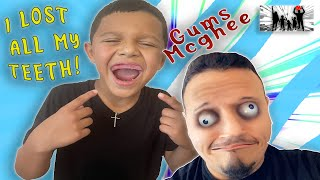 WE YANKED 2 TEETH OUT OF HIS MOUTH AND NOW THEY WONT GROW BACK!! DINGLEHOPPERZ VLOG