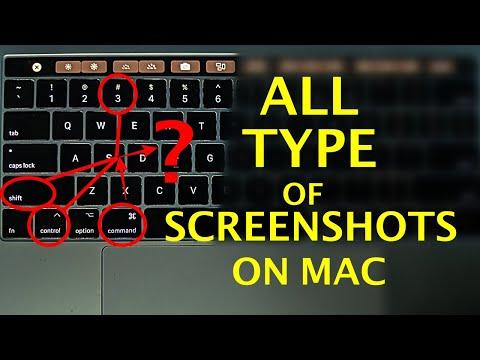 How to Take Screenshot on Mac - All types of Screenshots | Mac Basics