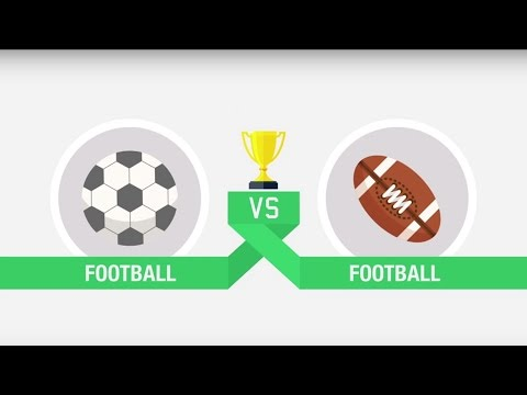 Football vs American Football | Which sport is better? | Top Eleven Infographic