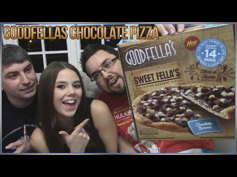 Goodfella's Sweet Fella's Chocolate Brownie Dessert Pizza Review