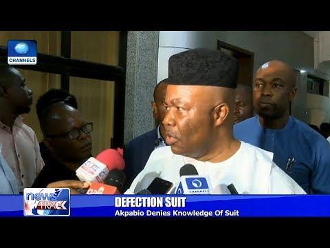 Akpabio Explains Difference Between Defection And Movement