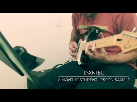 "Danial found me on TakeLessons around 6 months ago. This is an example of him improvising over the chord changes of ""comfortably numb""."