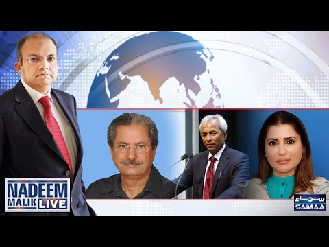 Bahria Enclave Hadsa | Nadeem Malik Live | SAMAA TV | 15 May 2017