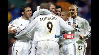 Real Madrid Galacticos Football Circus vs Atletico Madrid 2003 ● A Real Show ●
