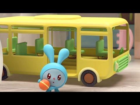Малышарики - новые серии -  Добро пожаловать! (144 серия) Развивающие мультики для самых маленьких видео